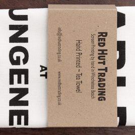 Tea Towel – Dungeness Tide Table Design