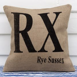RX Rye Sussex Fishing Fleet Registration Mark